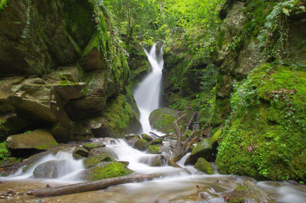Leshnishki waterfall